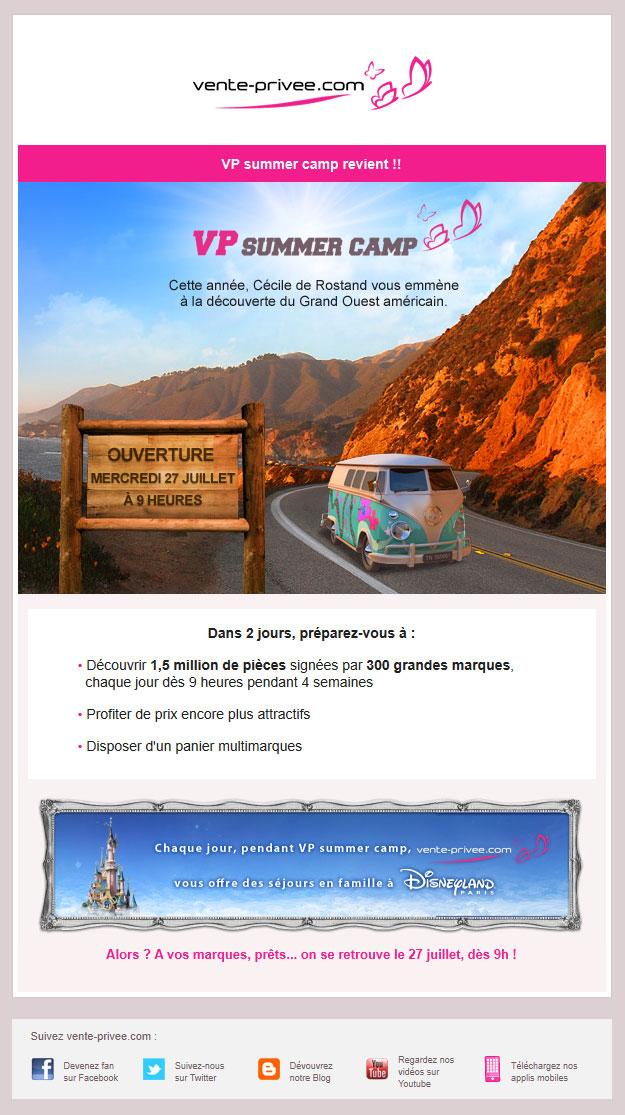 Galerie de newsletters de la marque the mailing book - Toute les vente privee du moment ...