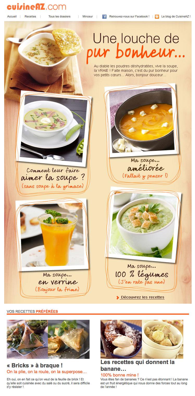 Newsletter Cuisine AZ 120112