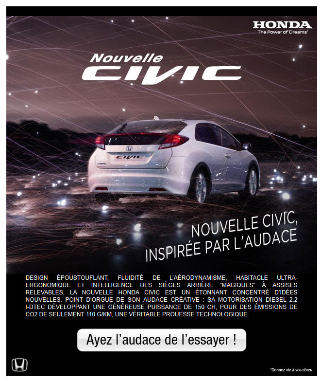 Newsletter Honda 06.02.2012