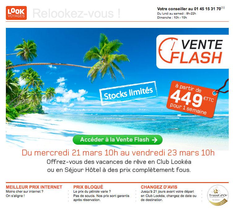 Newsletter Look Voyages 210312