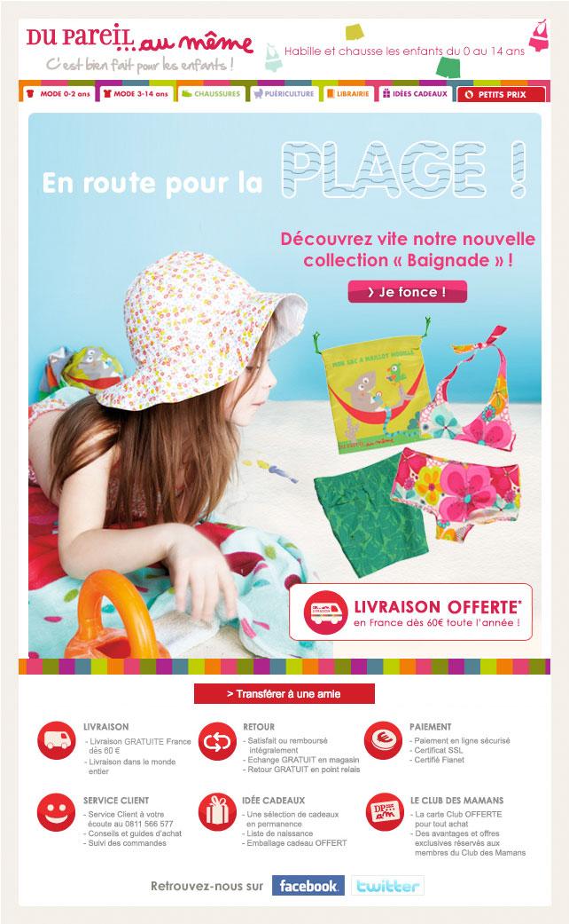 Newsletter Du Pareil au Même 140412