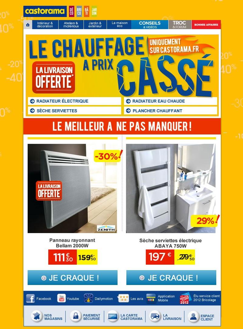 Newsletter Castorama 06.05.2012