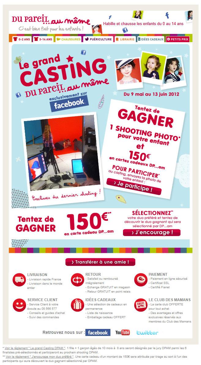 Newsletter Du Pareil Au Meme 10.05.2012