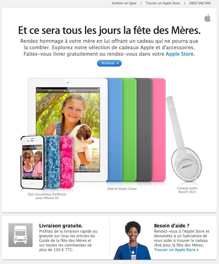 Newsletter Apple 180512
