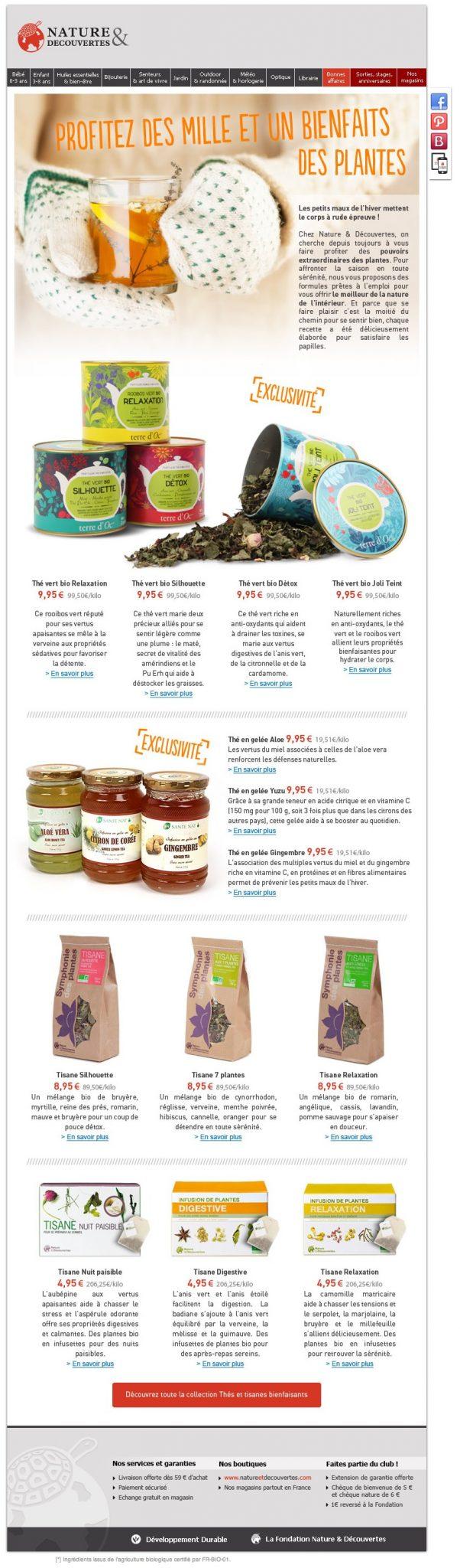 Galerie de newsletters nature et d couvertes profitez - Cuisine nature et decouverte ...