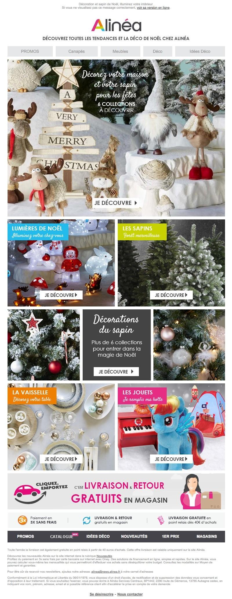 Newsletter Alinéa du 8 novembre 2015