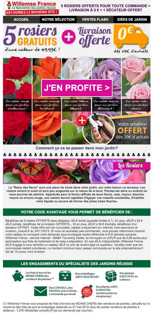 newsletter willemse france du 23 novembre 2015