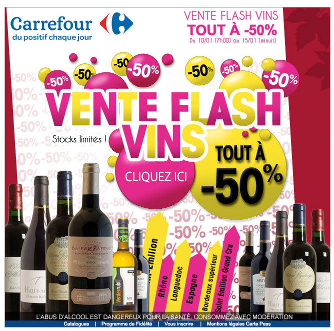 Newsletter Carrefour 130112