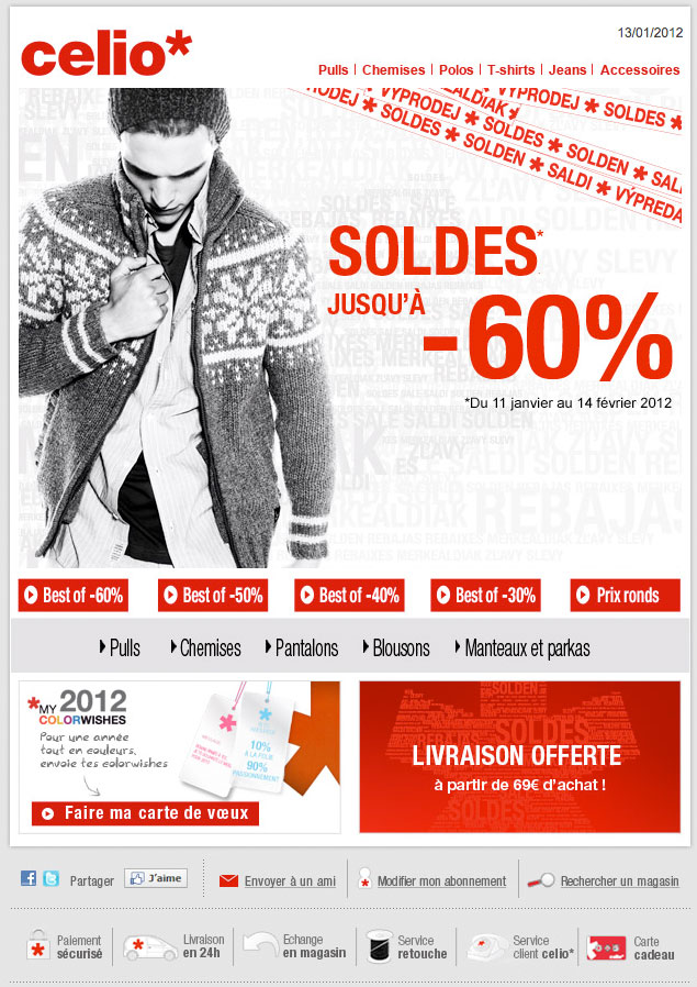 Newsletter Celio 110112
