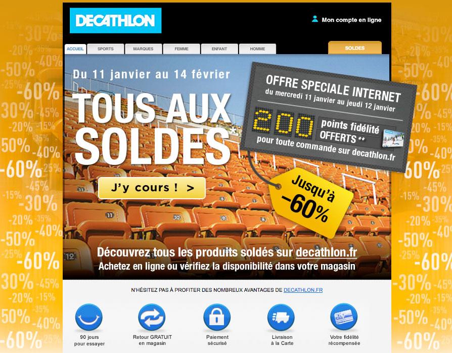 Decathlon Newsletter
