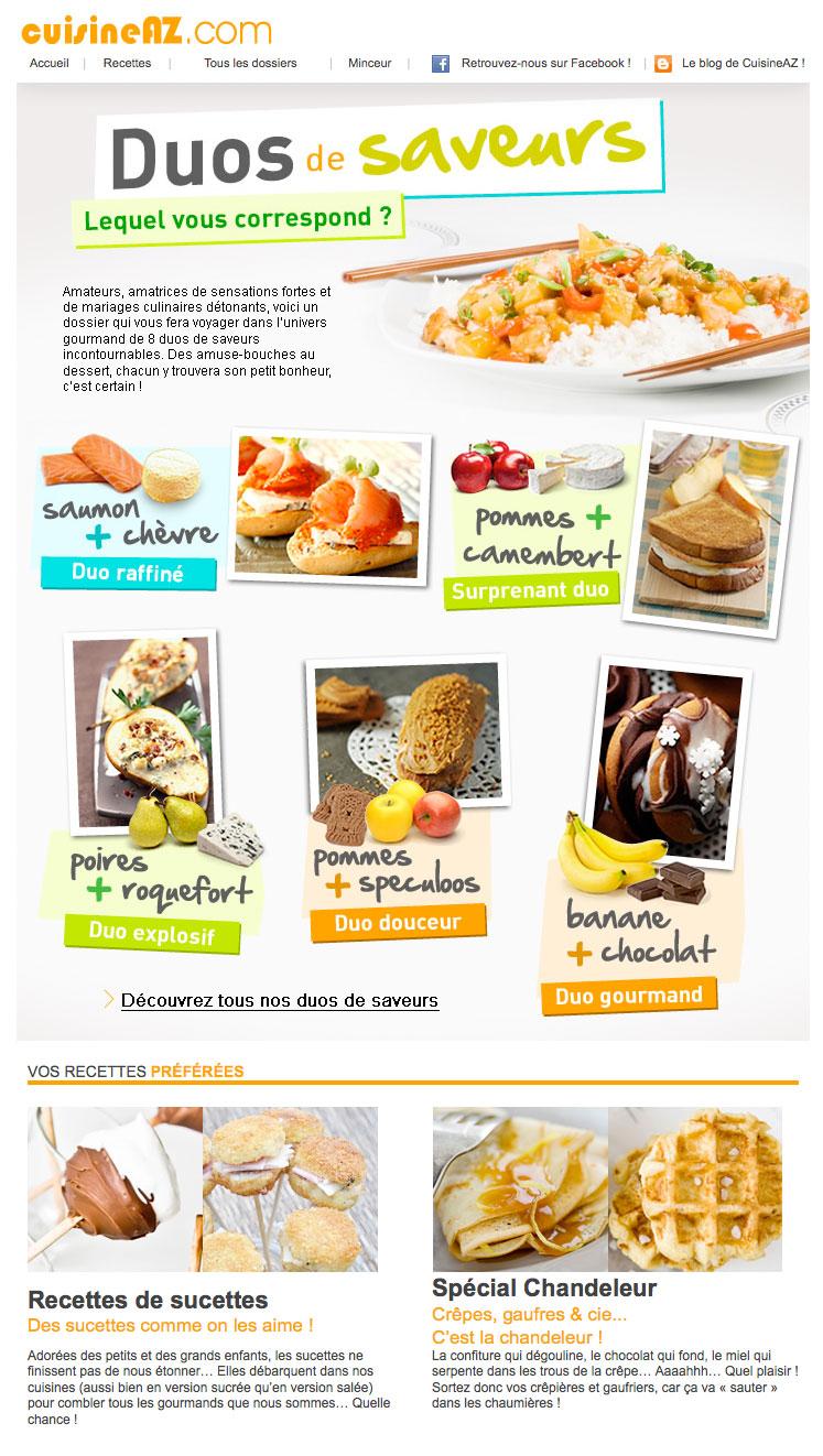 Newsletter Cuisine AZ 020212