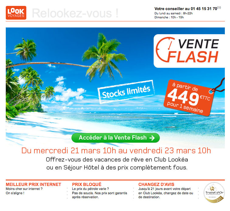 Newsletter Look Voyages 210312