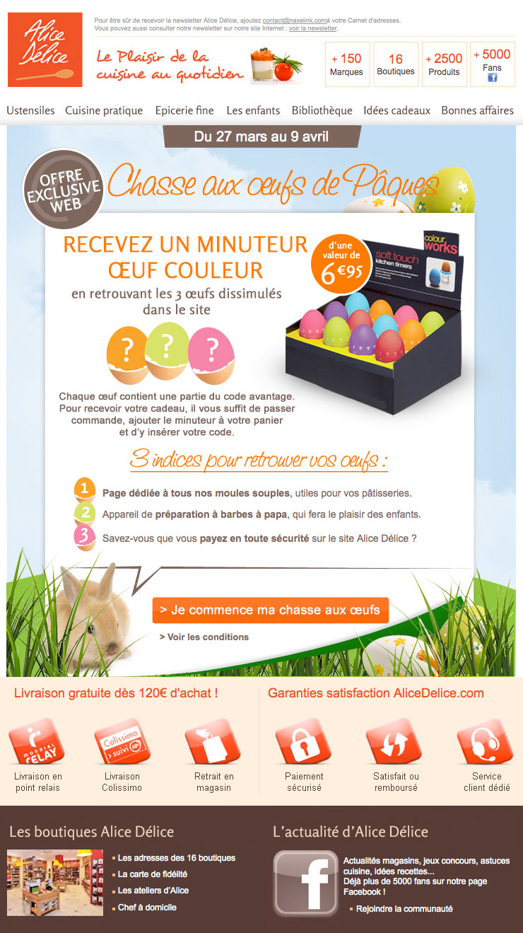 Newsletter Alice Delice 280312