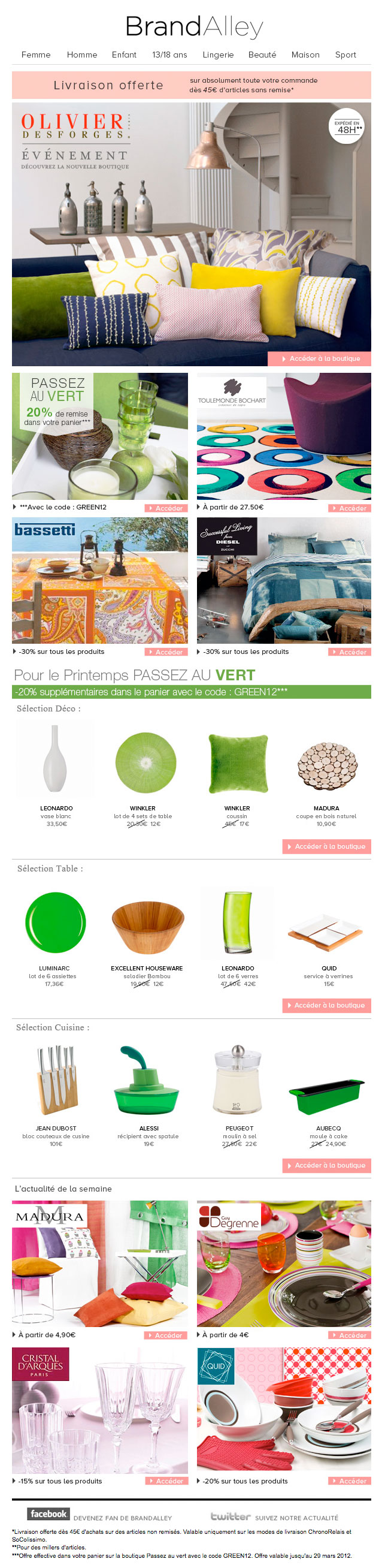 Newsletter Brandalley 240312