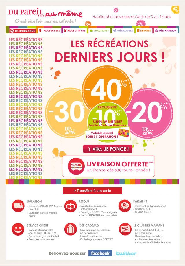 Newsletter Du Pareil Au Même 210312