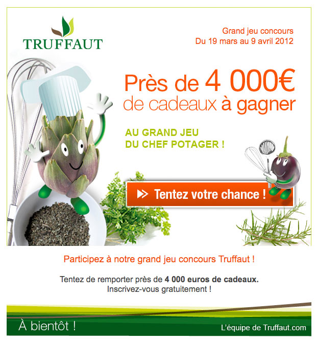 Newsletter Truffaut 210312