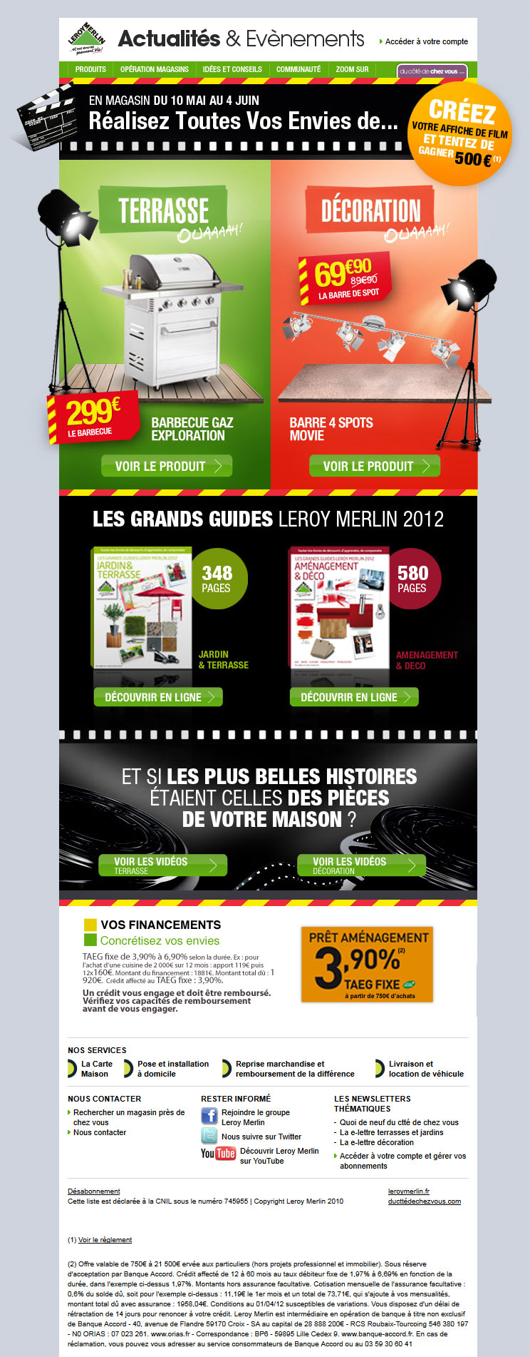 Newsletter Leroy Merlin 10.05.2012