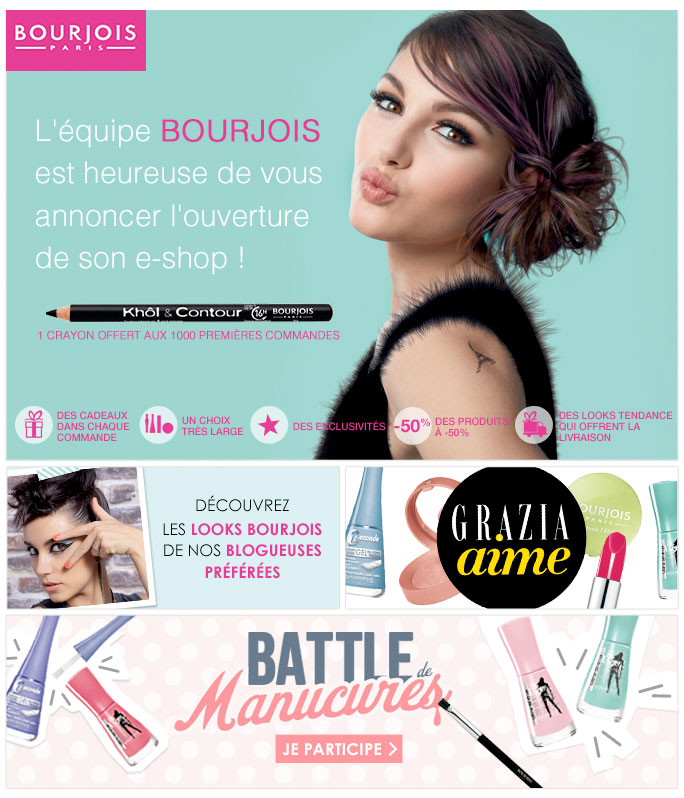 Newsletter Bourjois 150512