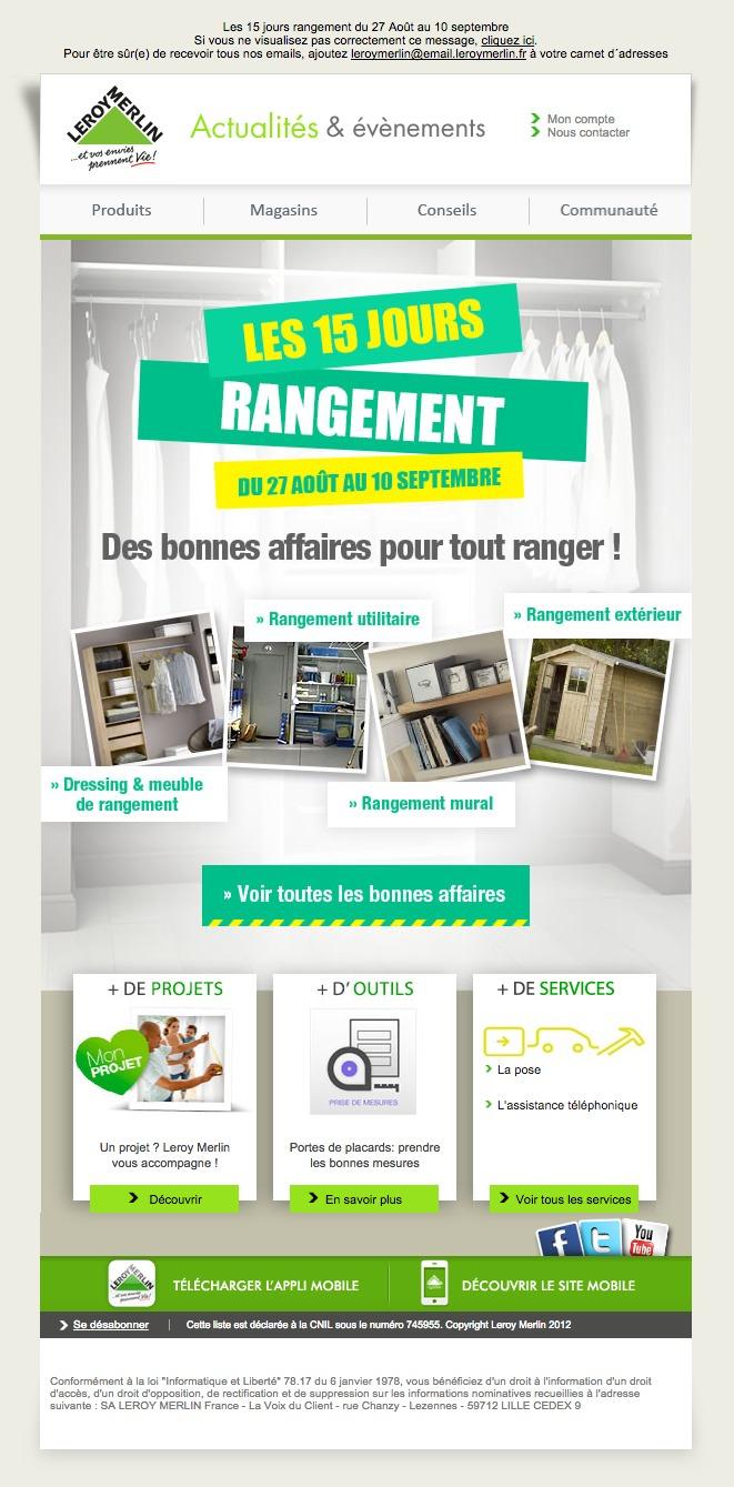 Galerie De Newsletters De La Marque The Mailing Book