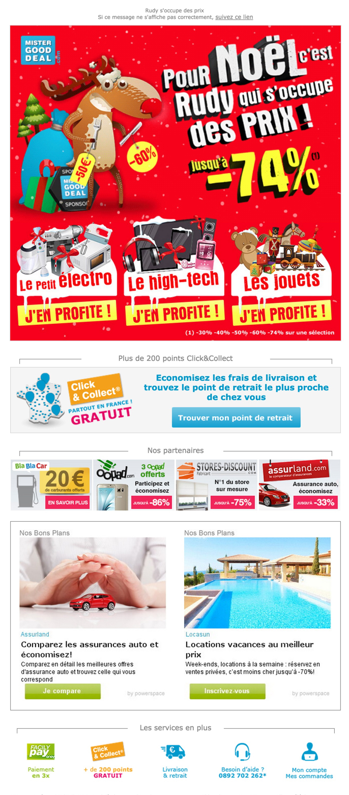 newsletter mister good deal du 18 novembre 2015